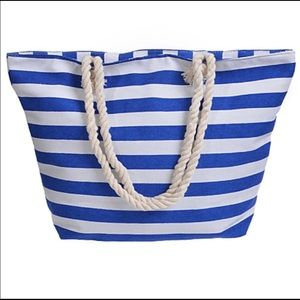 Classic Canvas Tote with Rope Handles